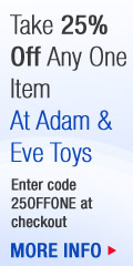 Adam and Eve Toys Code:25Offone