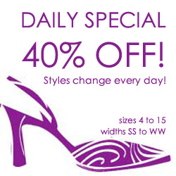 40% OFF women's shoes in Daily Special Department