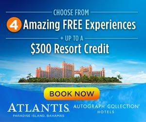 Atlantis Customize Your Vacation Sale!!