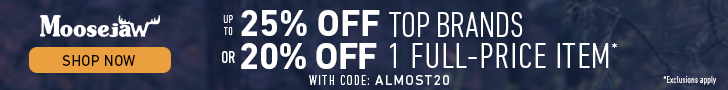 Up to 25% off Almost Everything