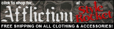 Click for killer deals on Affilction Clothing