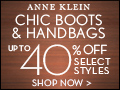 Save up to 40% On Boots & Handbags