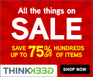 Think Geek Sale