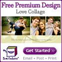 Free premium design - Love Collage