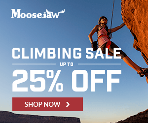 Climbing Sale Up to 25% off