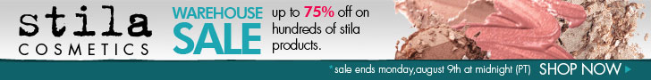 stila warehouse sale!