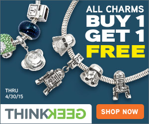 ThinkGeek All Charm Beads Buy 1 Get 1 Free