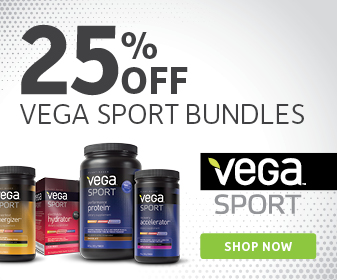 25% off Vega Sport Training Bundles