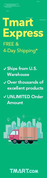 Tmart Express-Free & 4-Day Shipping
