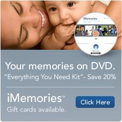 iMemories - Preserve Your Memories on DVD