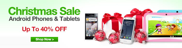 Android Phones & Tablets Christmas Sale