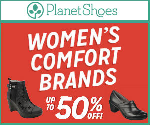 Up to 50% off Comfort Shoes in our Semi-Annual Clearance Sale!