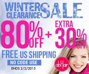 Hair extensions 80% off +extra 30% off +FS