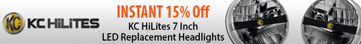 K/C HiLites 7 Inch LED Replacement Headlights (part #K/C42321) are now 15% OFF!
