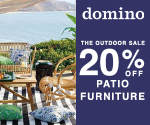Get 15% off patio furniture