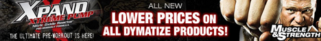 New Lower Prices On Dymatize At Muscle & Strength!