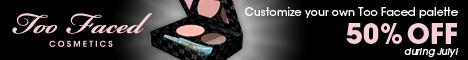 50% OFF Custom Palettes