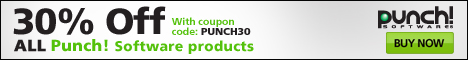 Save 30% Off on Punch Software