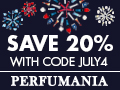 Deals on Perfumania 4th July Sale: 20% Off Sitewide + Extra $10 off $50 or more