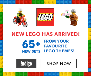 65+ new Lego sets now available at Indigo.ca!