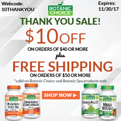 Shop new products at Botanic Choice