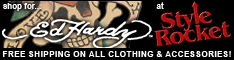 Click for Ed Hardy Shoes and more...