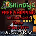 Free Shipping on Halloween Decor Orders $85+