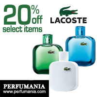 20% off Lacoste Promotion