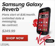 Get The New Samsung Galaxy Reverb from Virgin Mobile!