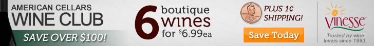 Save Over $100 with American Cellars Wine Club