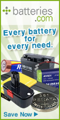 Free Shipping Laptop Batteries with Batteries.com