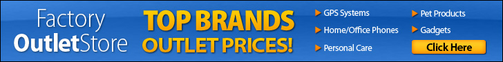 Top Brands - Outlet Prices!
