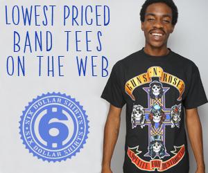 The Velvet Underground T-Shirt $15.95!