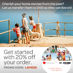 Save 20% at iMemories.com