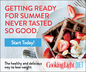 Cooking Light Diet - The delicious way to lose weight