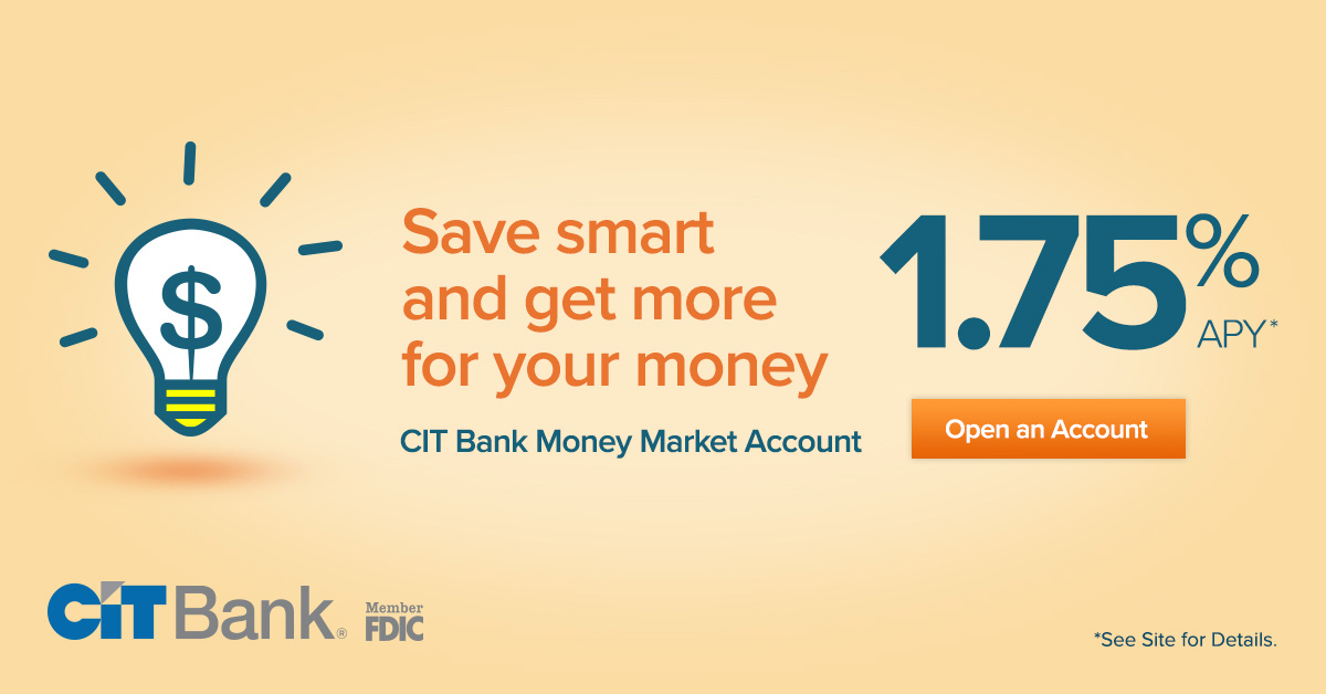 CIT Bank Money Market Account