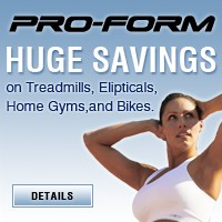 ProForm Huge Savings
