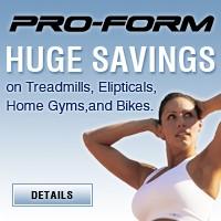 ProForm Huge Savings