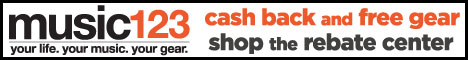 Extreme Savings + Free Shipping at Music123.com