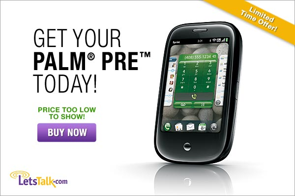 Get your Palm Pre Today!