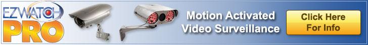 EZWatch Pro Motion Activated Video Surveillance