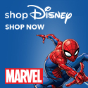 Disney Store-Spider-Man- Wolverine- the Hulk- Iron Man and all your favorite Marvel superheroes