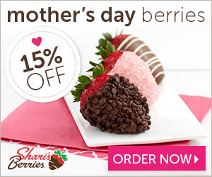 SharisBerries promo