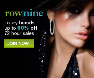 RowNine - Retail Therapy - Luxury at up to 80% off