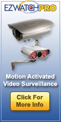 EZWatch Pro Motion Activated Video Surveillance