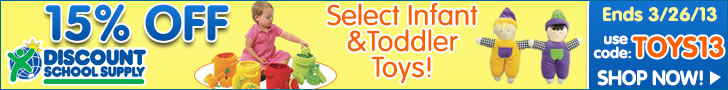 Save 15% on Select Infant & Toddler Toys