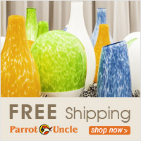 Free Shipping for ParrotUncle most lightings.
