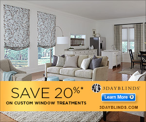 3Day Blinds 20% off