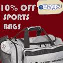 10% Off Sports & Duffel Bags