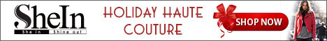 Get your Holiday Haute Couture at affordable prices at Sheinside.com